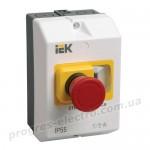 """Защитная оболочка с кнопкой """"Стоп"""" IP54 IEK"""