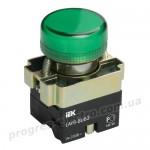 Индикатор LAY5-BU63 d=22мм зеленый IEK