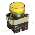 Индикатор LAY5-BU65 d=22мм желтый IEK