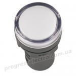 Лампа AD16DS(LED)матрица d=16мм белый 12В AC/DC IEK