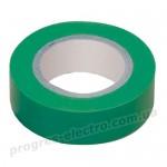 Изолента 0,13х15мм зеленая 20м ИЭК