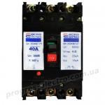 Автоматический выключатель ВА-2004N/125 3р  40А АСКО