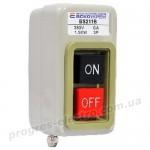 Кнопочный выключатель-разъединитель BS-211B