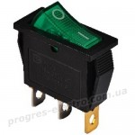 Пост кнопочный KCD3-101N  GR/B 1 клав. с подсветкой (зеленый)