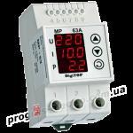 Реле напряжения с контролем тока DigiTOP МР-63А