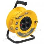 Катушка УК20 с термозащитой 4 места 2Р+PЕ/20м 3х1,0мм2 Industrial IEK