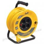 Катушка УК30 с термозащитой 4 места 2Р+PЕ/30м 3х1,0мм2 Industrial IEK