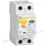 Автоматический выключатель дифференциального тока АВДТ32 C63 100мА IEK