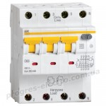 Автоматический выключатель дифференциального тока АВДТ34 C40 100мА IEK