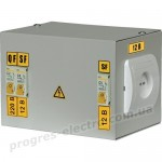 Ящик с понижающим трансформатором ЯТП-0,25 380/36-3 36 УХЛ4 IP30 IEK