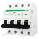 Модульный автоматический выключатель FB2-63 Standart 4P D25