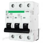 Модульный автоматический выключатель FB3-63 EVO 3P D40