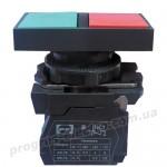Выключатель кнопочный FP PrecL Pl 1NO 1NC 110V