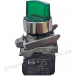 Выключатель кнопочный FP RECL 3 зеленый 2NО 110V